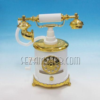 Телефон ретро - сувенир с музикален и подвижен механизъм