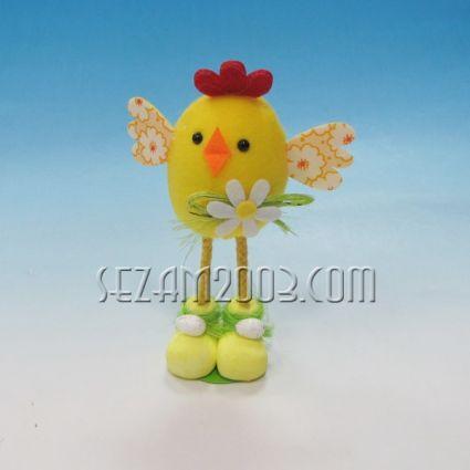 Пиленце с дълги крака - Великденска декорация