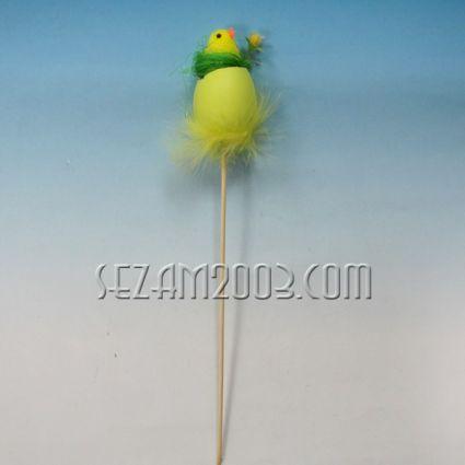 Пиленце в гнездо на д.пръчка - Великденска декорация
