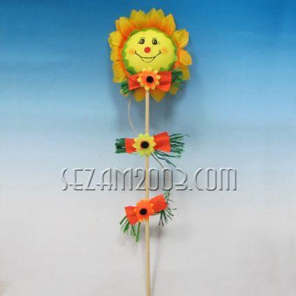 Слънце/цвете на пръчка  -Великденска декорация