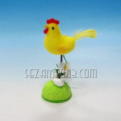 Пиленце с цветя   - Великденска декорация