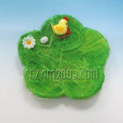Пиленце и яйца - панер - Великденска декорация