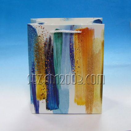 Подаръчна торбичка от лукс хартия - арт декор