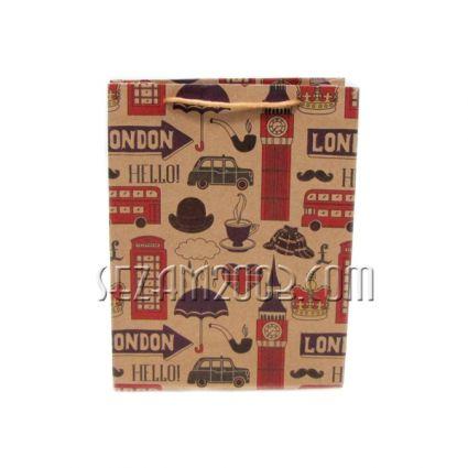 Подаръчна торбичка от крафт хартия