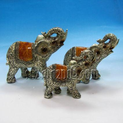 Слончета от полирезин 3 бр.к-т