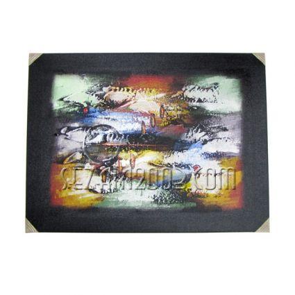 Абстракт - картина масло ръчно рисувана