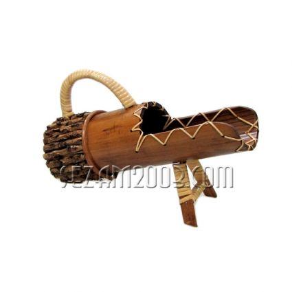 Поставка за бутилка вино от бамбук