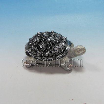 Костенурка декорирана  - фигура от полирезин