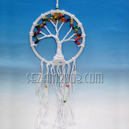 Дърво дъга - капан за сънища от конци и д.мъниста