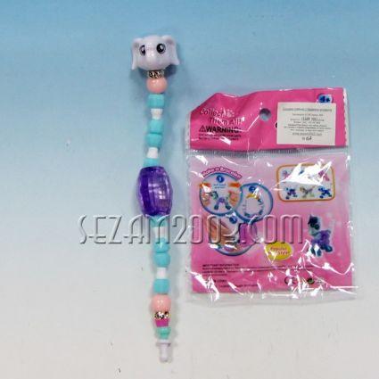 Гривна / играчка с животно - светеща с батерии от пластмаса