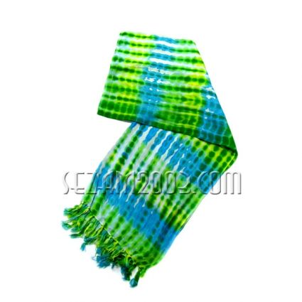 Ladies\\\' scarf made of soft fabric with impressive print