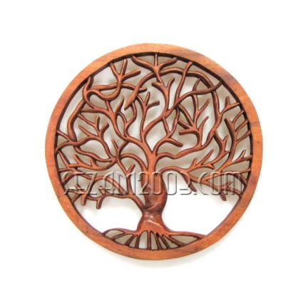 Tree of Life woodcarving
