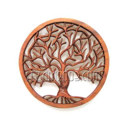 Дърво на живота - пано стенно дърворезба