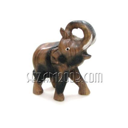 Слон дърво с навит хобот нагоре
