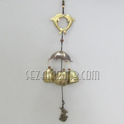 Wind bell from brass