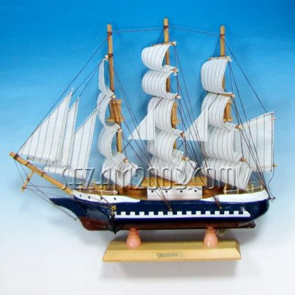 SHIP - model from wood