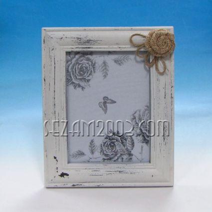 Рамка за снимка от дърво - ретро декор