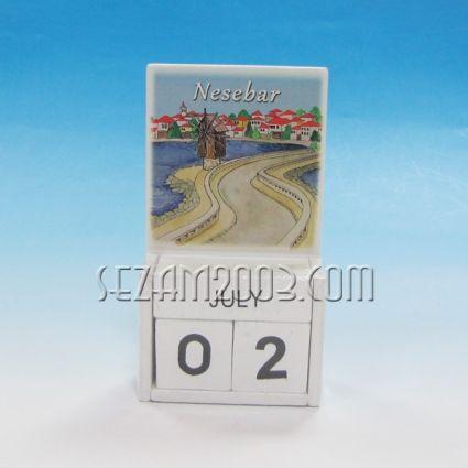 Календар от дърво - НЕСЕБЪР