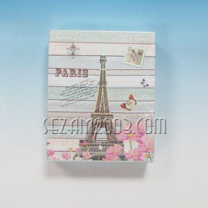 Албум за 40 бр. снимки 10/15см в джоб от лукс хартия декориран