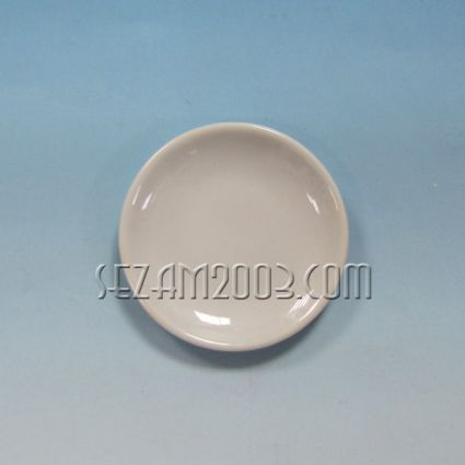 Чинийка  от порцелан - подходяща за персонализиране , за магнит за хладилник