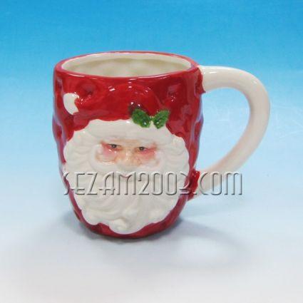 Коледна ЧАША от керамика