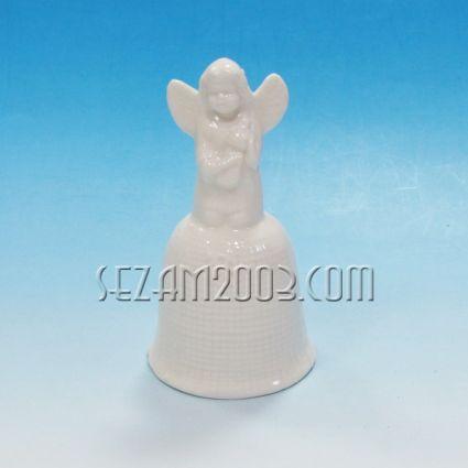 Ангелче звънче от керамика