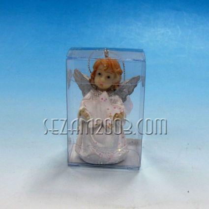 АНГЕЛЧЕ  -фиг.резин в подаръчна кутийка от пвц