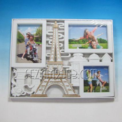 Рамка за снимки 3ка / пано стенно от пластмаса