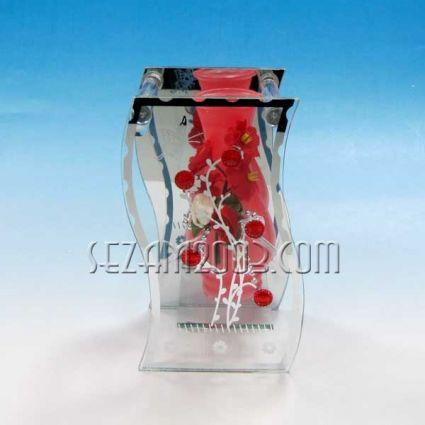Ваза от стъкло и декорации