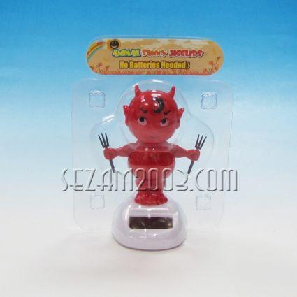 Дяволче - соларна подвижна фигурка