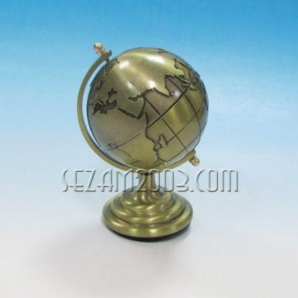 Глобус метален - настолен сувенир