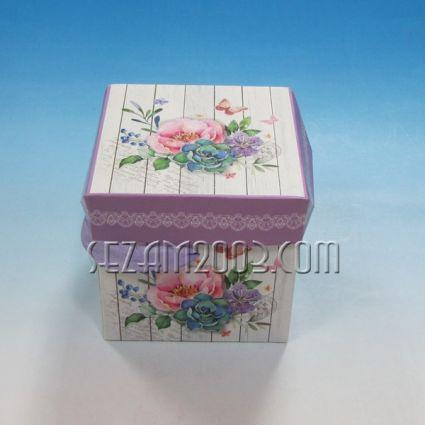 Подаръчна кутия от тънък картон - РАЗГЛОБЯЕМА