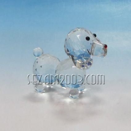 Куче - фигурка от кристални елементи