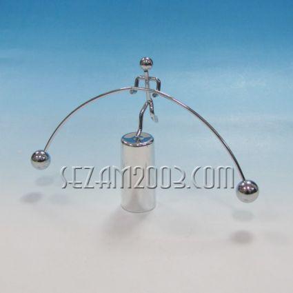 Въжеиграч балансиращ - фигурка настолна от метал