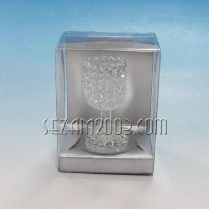 Чашка - фигурка от стъкло в подаръчна кутийка
