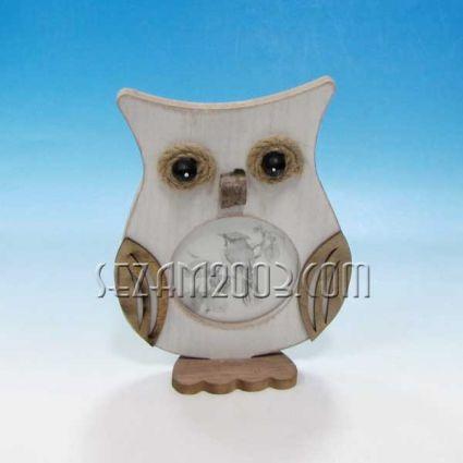 MDF Owl - Desktop Photo Frame