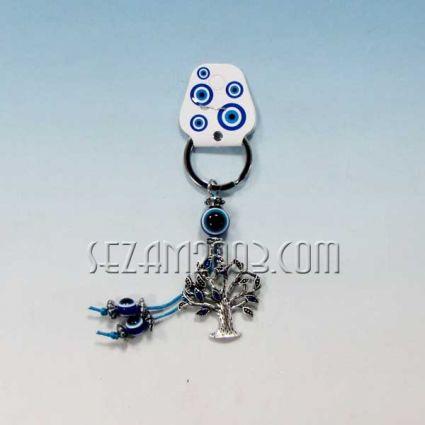 keychain metal + pendant Nazar