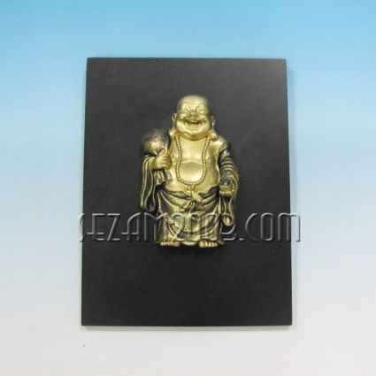 Buddha happy figure polirezin