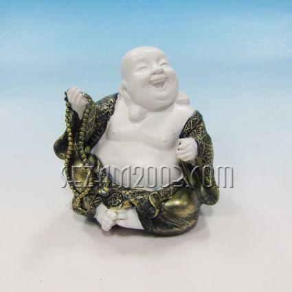 Буда  щастлив  настолна фигура от резин