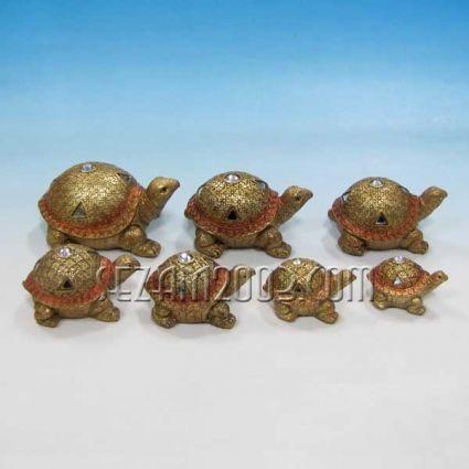 Костенурки семейство 7бр.к-т от полирезин