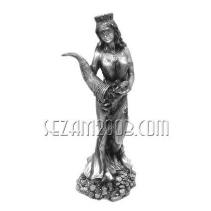 Фортуна богиня на съдбата,късмета - фигура от резин