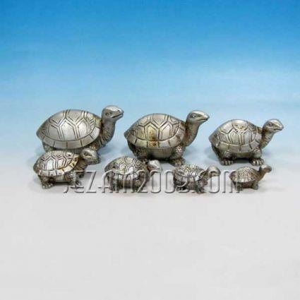 Костенурки от резин - 7 бр.к-т