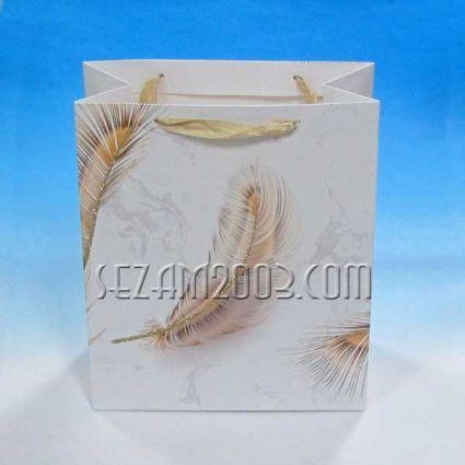Подаръчни торбички от лукс хартия ПЕРО