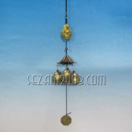БУДА - вятърен звънец от метал фън шуй