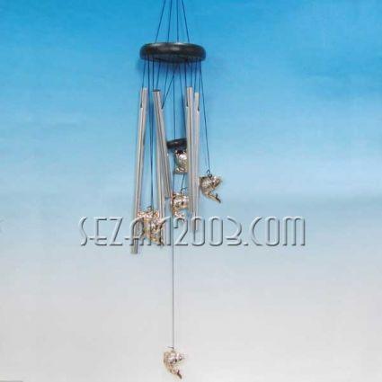 РИБИ - вятърен звънец от метал фън шуй