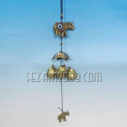 Elephant - a feng shui wind bell