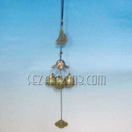 КОРАБ - вятърен звънец от метал фън шуй