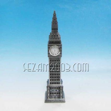 Биг-бен кула с часовник - метален сувенир