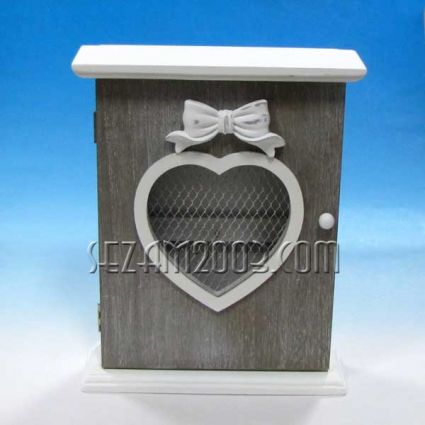 Box for keys from MDF + heart