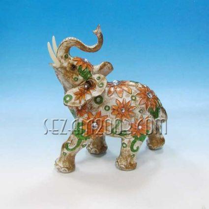 Слон - декорирана фигура от резин